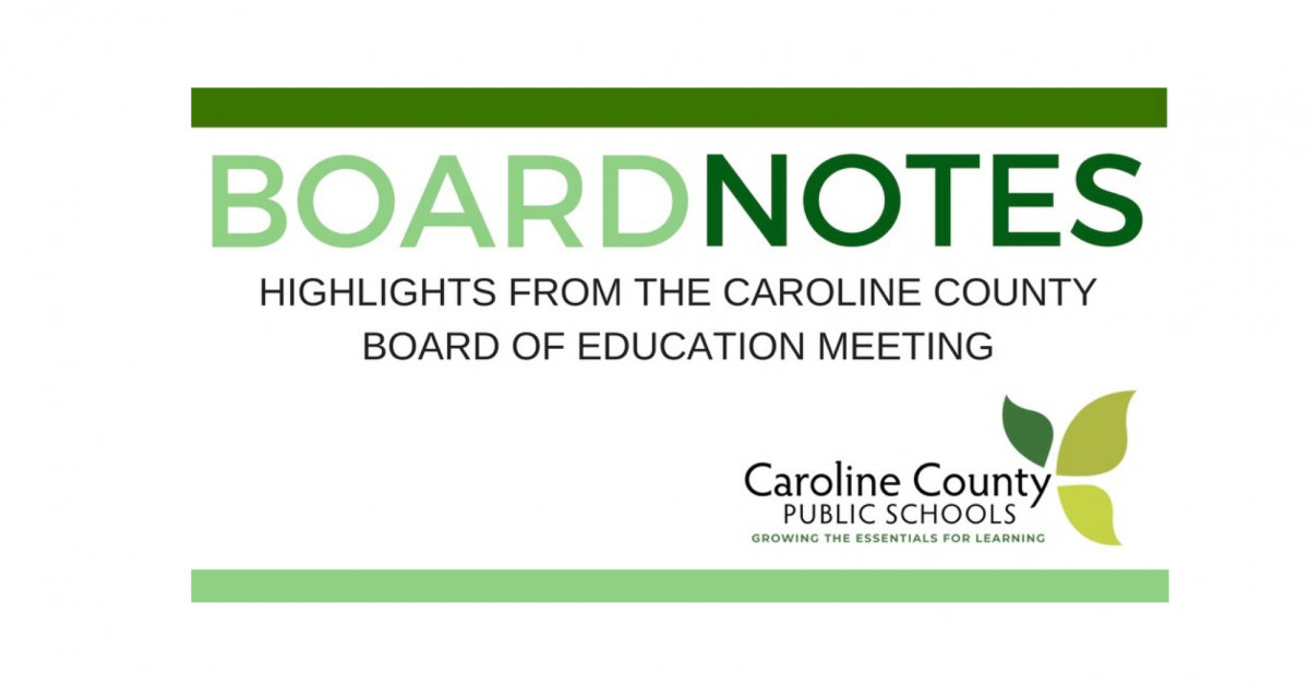 Board notes banner