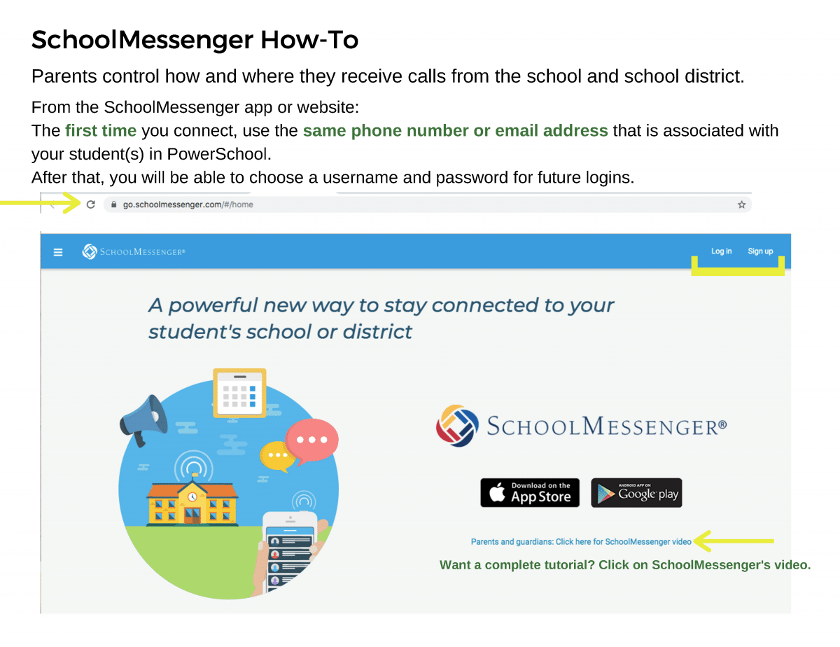 SchoolMessenger How-To _Page_1