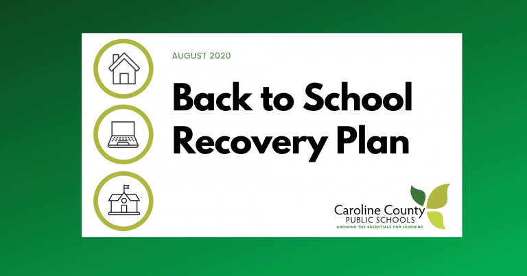 Recovery Plan Cover Graphic