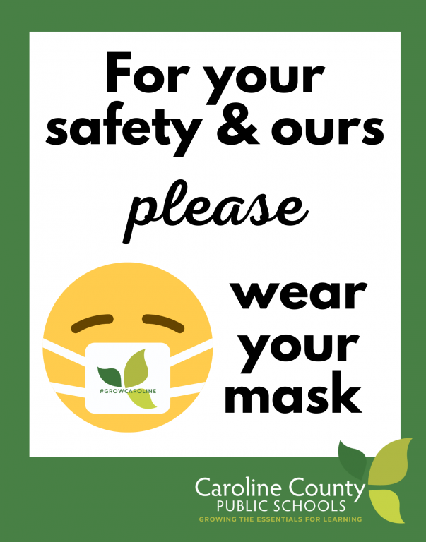 Wear Your Mask Sign