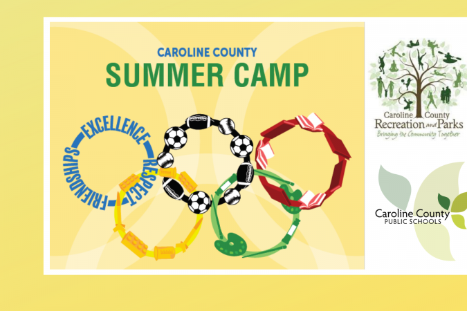 Logo for summer camp, CCRP, CCPS